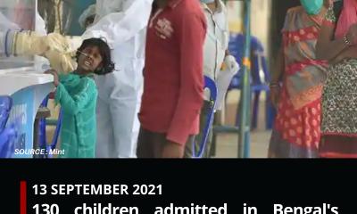 130 children admitted in Bengal's Jalpaiguri hospital with influenza-like symptoms