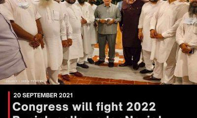 Congress will fight 2022 Punjab polls under Navjot Singh Sidhu, says Harish Rawat