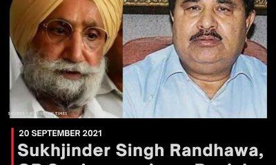 Sukhjinder Singh Randhawa, OP Soni sworn in as Punjab Deputy CMs