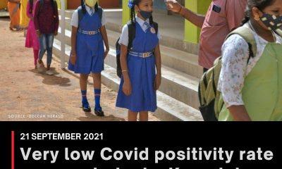 Very low Covid positivity rate among students: Karnataka TAC