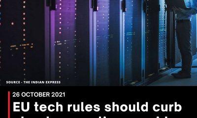 EU tech rules should curb cloud computing providers, study says
