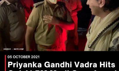 Priyanka Gandhi Vadra Hits Out At PM Modi Over Arrest