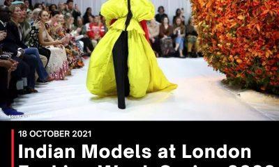 Indian Models at London Fashion Week Spring 2022