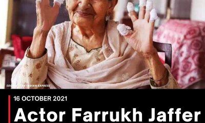 Actor Farrukh Jaffer passes away at 88