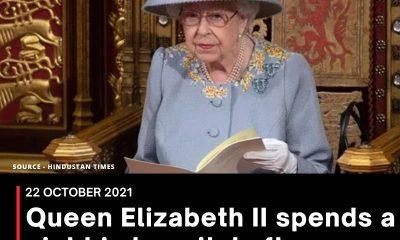 Queen Elizabeth II spent night in hospital for tests