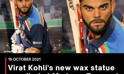 Virat Kohli's new wax statue unveiled at Madame Tussauds in Dubai, pics surface