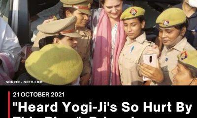 """Heard Yogi-Ji's So Hurt By This Pic..."": Priyanka Gandhi On Cops' Selfie"