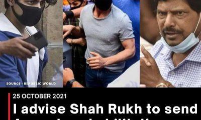 I advise Shah Rukh to send Aryan to rehabilitation centre: Union Minister
